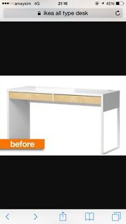 Very good Micky IKEA studying desk  Chatswood Willoughby Area Preview