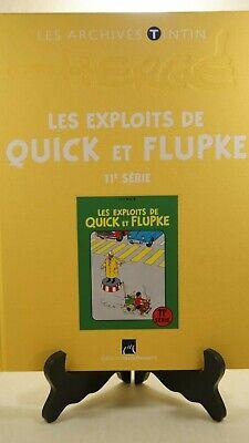 HERGE - LES EXPLOITS DE QUICK et FLUPKE 11 - MOULINSART 2013