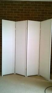 Folding Room Divider/Privacy Screen  180cm X 176cm Box Hill South Whitehorse Area Preview