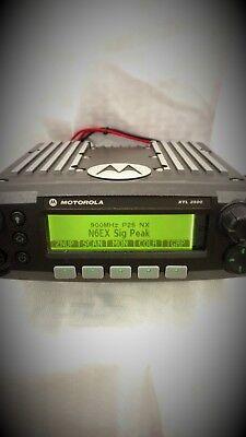 Motorola-xtl2500-900mhz-p25-radio-only
