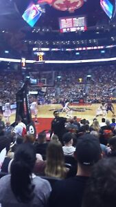 Raptors vs 76ers-BELOW FACE VALUE.  - 7 rows from the court