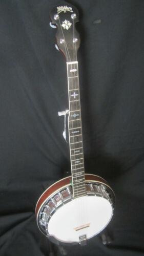 Washburn B-14 Deluxe 5-String Banjo w/case