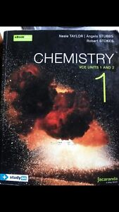 Wanted: Chemistry 1, VCE units 1&2