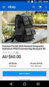 National geographic camera backpack Dundas Valley Parramatta Area Preview