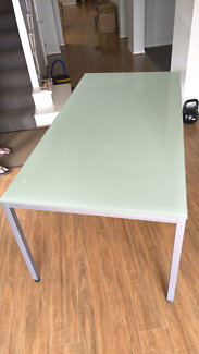 Glass dining table. Must go by tomorrow 24th oct