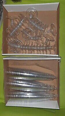 Sektgläser 40 Stück Plastik 0,1 Liter