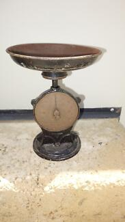 Antique Salters kitchen scales