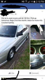 Vy commodore quick sell , today Mount Druitt Blacktown Area Preview