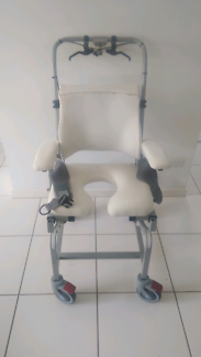 Shower Chair Tilt in Space function