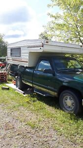1997 GMC 1/2 ton with camper