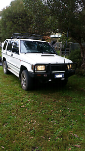 HOLDEN JACKAROO 4x4 DIESEL 1996 Princes Hill Melbourne City Preview