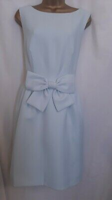 Ted Baker Nuhad Light blue size 14  Bow Party Dress   rrp £199  new