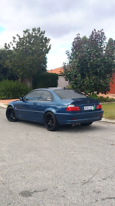 Manual BMW e46 323ci 1999 coupe Topaz Blue Waterford South Perth Area Preview