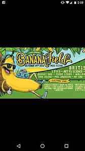 Banana Field ticket x 1 Coffs Harbout Sapphire Beach Coffs Harbour City Preview