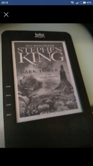 EBook Kobo Reader with heaps of Stephen King & classics