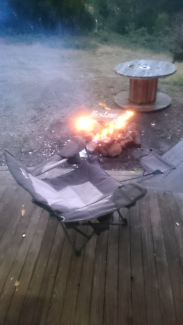 Very good camp chair