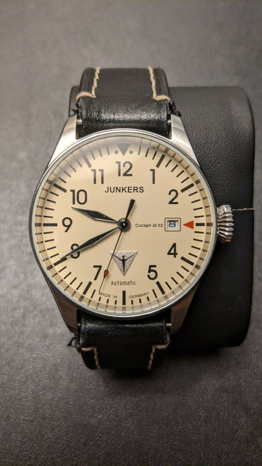 Junkers Cockpit JU 52 Automatic Pilot Watch Made In Germany - $153.00