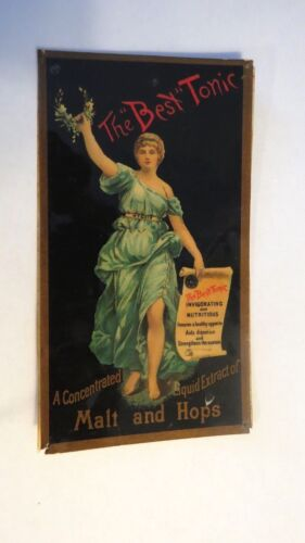 Vintage  THE BEST TONIC  MALT AND HOPS  Card