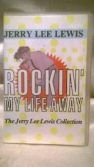 Audio Cassette Jerry Lee Lewis Rockin' My Life Away 1979 Wallaroo Copper Coast Preview