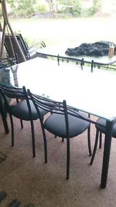 Indoor Table with 6 Chairs