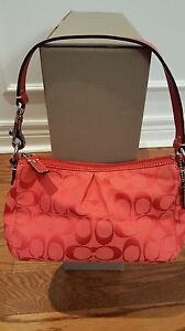 AUTHENTIC RED COACH PURSE