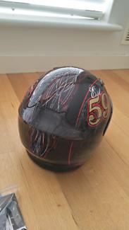 Black & Red Helmet