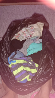 Assorted Girls, boys and womens clothes for sale.