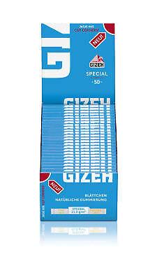 2 Boxen (100x) Gizeh Special blau Zigarettenpapier Cigarette Papers
