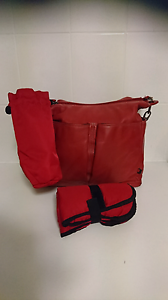 Oioi Leather Pocketed Hobo Nappy Bag Jerrabomberra Queanbeyan Area Preview