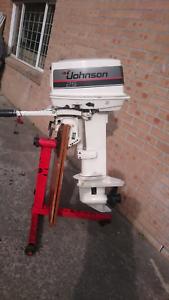 Johnson 25hp outboard motor