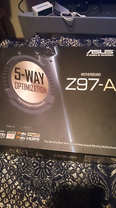 Asus Z97-A sli and crosfire with m.2 Mill Park Whittlesea Area Preview