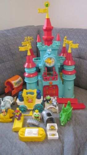 COMPLETE Vintage 1989 Muppet Babies Castle Play Set