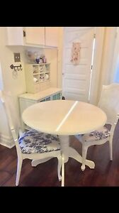 French provincial chairs for sale with optional table as dinette Windsor Region Ontario image 2