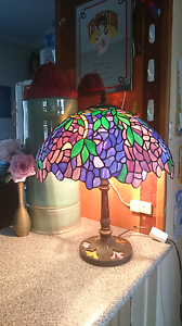 Leadlight Tiffany style lampshade stained glass table lamp Lismore Heights Lismore Area Preview