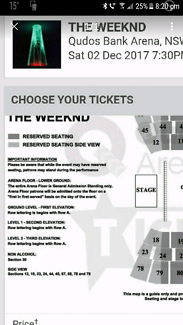 Weeknd tickets