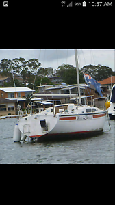 23ft cole yacht Toukley Wyong Area Preview