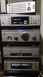 SONY 5.1 MHC-S9D Dolby Digital,3x DVD Stereo System with Remote