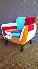 Square patch tub chair Asquith Hornsby Area Preview