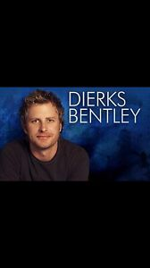 2 Dierks Bentley tickets. Budweiser Gardens  London Ontario image 1