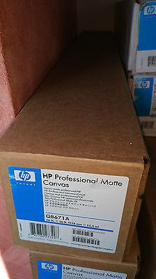 Q8671A HP Matte Canvas Professional Leinwand Rolle für Designjet 914mm,15,2m