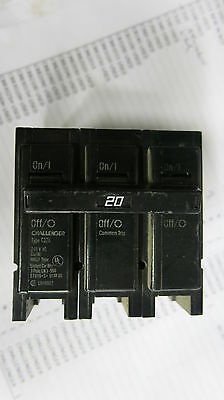 Challenger C320 20 Amp 3 Pole Circuit Breaker- Warranty