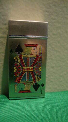 Butane Lighter JACK OF SPADES Playing Card Unbranded Lights Up