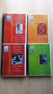 Des O'Neill Gamsat Books Material 2014 (Must Have for Gamsat)