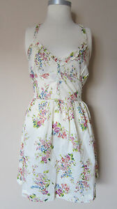 SOUL-CAL-REPUBLIC-PRETTY-FLORAL-SUMMER-DRESS-CROCHET-DETAIL-BACK-6-14-BNWT-26