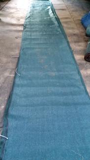 Shade cloth excellent condition 90%uv