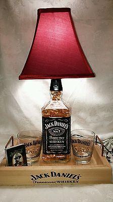 Jack Daniels 1.75 Liter Whiskey Bottle Light Lamp Bar Decorations for sale  Independence