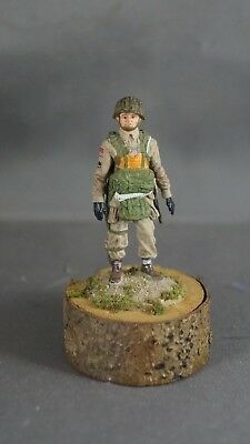 American WWII World War Two 2 paratrooper 54mm metal Infantry figure miniature