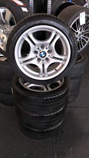 """BMW E46 Tyres & Rims set """"245/40R17"""" X4"""