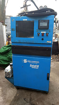 1 USED SERV-I-QUIP ORV-290 DATAFILL REFRIGERANT FILL SYSTEM ***MAKE OFFER***