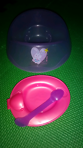 Baby born doll potty and feeding dish/spoon Cabarlah Toowoomba Surrounds Preview